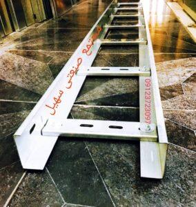 نردبان کابل با پله ساده