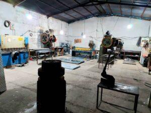 مراحل ساخت سینی کابل